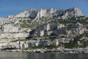 Calanque de l'Escu, view from the sea