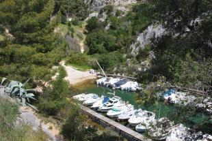 The end of the calanque