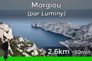 Way to go to Morgiou via Luminy