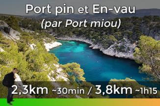 Hiking trail from Port Miou to Port pin and En-Vau
