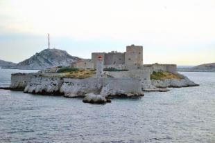 Château d'if at Marseille